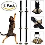 Cheap Avolare Dog Doorbells for Dog with Extra Large Loud, Providing Potty Training and Housetraining, Training Puppy The Easy Way, Adjustable and 6 Brass Bell.