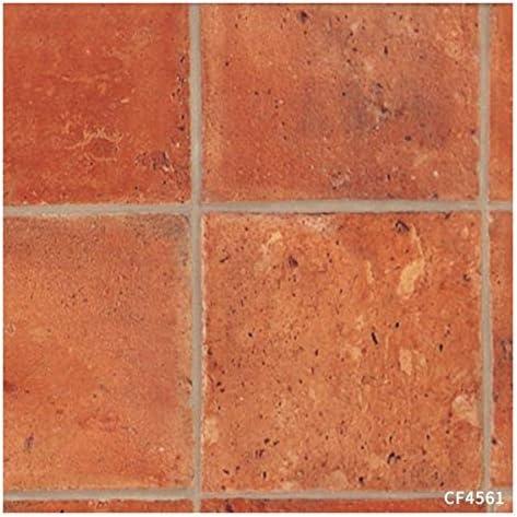 クッションフロア テラコッタ 玄関 土足対応 東リ CFシート-P 2.3mm厚 182cm巾 CF4560〜4561 (CF4561)