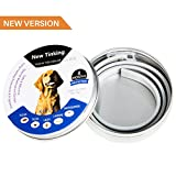 Dog Flea Treatment Collar - BESAZW Flea Tick Collar for Dogs,Pest Control Collars Prevention for Dogs-8 Months Protection—Adjustable Waterproof Dog Collar to Repel Fleas,Mosquitoes and Lice(One Size Fits Most)