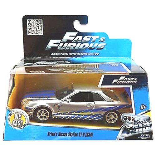 Jada 1:32 Fast & Furious Brian's Nissan Skyline GT-R