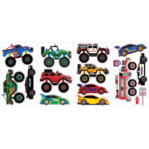 Which is the best hot wheels wall decals?