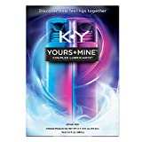 K-Y Yours + Mine Couples Personal Lubricant & Intimate Gel, 2 x 1.5 oz tubes