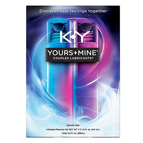 K-Y Yours + Mine Couples Personal Lubricant & Intimate Ge...