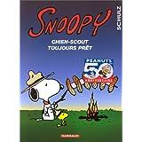 Snoopy 30  Chien scout toujours prêt