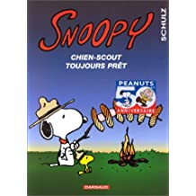 Snoopy 30  Chien scout toujours prêt