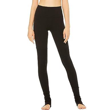 45449a5f5d Alo Yoga Women's High Waist Goddess Legging, Black, L at Amazon Women's  Clothing store:
