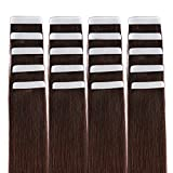 """14"""" Tape in Hair Extensions Remy Human Hair"""