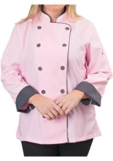 womens long sleeve active chef coat - Best Gift For A Chef