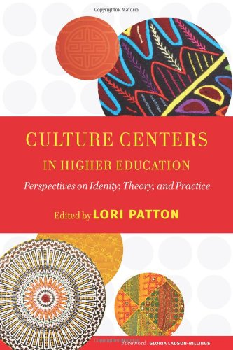 Culture Centers in Higher Education: Perspectives on Identity, Theory, and Practice