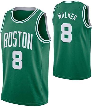 Jersey de Baloncesto para Hombre Celtics # 8 Walker Nueva ...