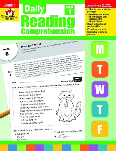 EMC3451 - DAILY READING COMPREHENSION GR 1