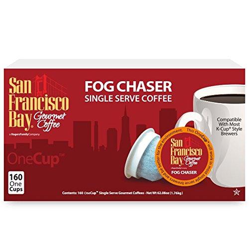 San Francisco Bay Coffee Fog Chaser Coffee OneCup, 160 Count by San Francisco Bay Coffee (Image #2)