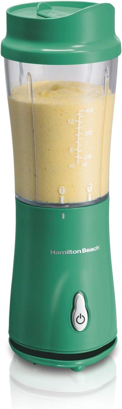 Liquidificador Individual, Verde, 110v, Hamilton Beach
