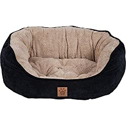 Precision Pet SnooZZy Mod Chic Daydreamer, Black