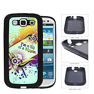 Beautiful Colorful Vector with Im a Bit of a Hippie Anonymous Quote Hard pc pc Phone Case Cover Samsung Galaxy S3 I9300