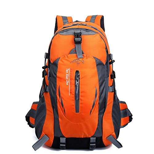 Bolso de montar a caballo de múltiples funciones montar colgante bolsa de viaje de deportes al aire libre doble hombro mochila bolsa impermeable ...