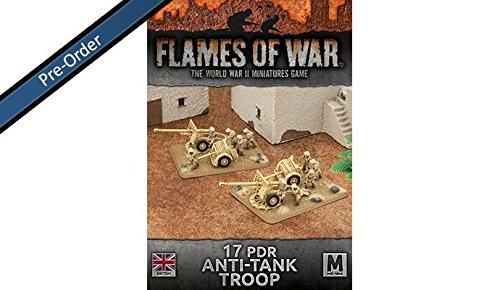 Flames of War 17 pdr anti-tank troop