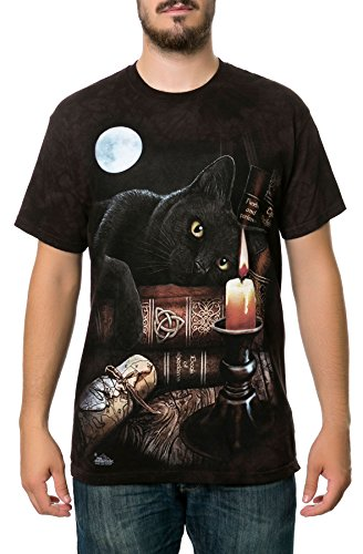 (The Mountain Men's The Witching Hour T-Shirt Black XL)