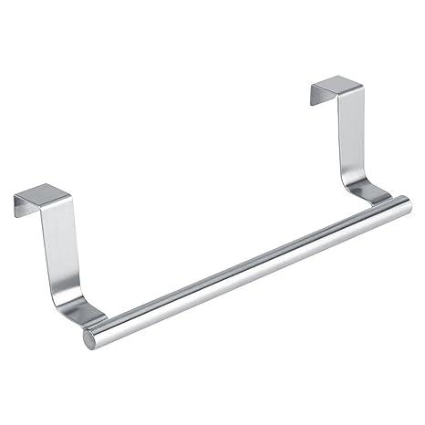 Toalleros repisa Toalleros de acero inoxidable cuarto de baño barra  colgante barra de cajón perchero de f72f1fc6e80e