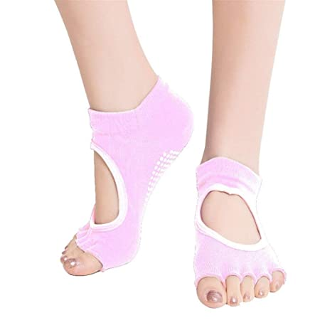 HAIYOUSHANGMAO Sports Socks Yoga Pilates Calcetines Ballet ...