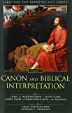 img - for Canon and Biblical Interpretation (Scripture and Hermeneutics Series) book / textbook / text book
