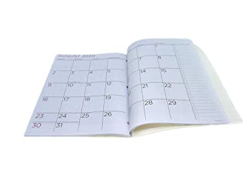 PlanAhead Home/Office 2-Year Monthly Planner, January 2019 - December 2020, 8.5 x 11 Inches (Flowers)