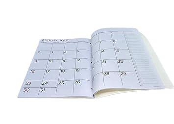 Amazon.com: PlanAhead Planificador mensual de 2 años, enero ...