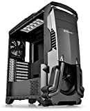 full atx tower - Thermaltake Versa N24 Black ATX Mid Tower Gaming Computer Case with Power Supply Cover CA-1G1-00M1WN-00