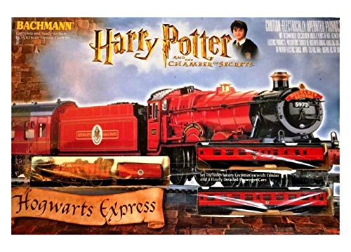 (Harry Potter Chamber of Secrets Hogwarts Express Bachmann HO/OO Electric Train Set)