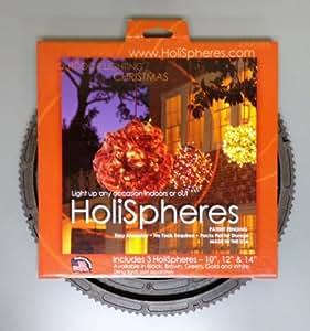 Iluminación HoliSpheres y decoración (marrón) esferas