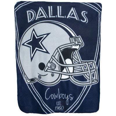 The Northwest Company Team Logo Soft Fleece Throw Blanket, 40 in x 50 in (Dallas Cowboys)