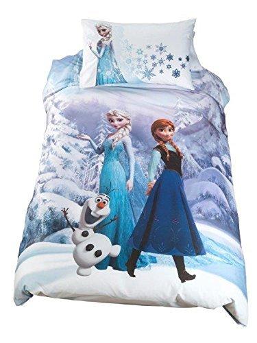 Copripiumino Frozen Disney.Disney Frozen Parure Copripiumino Letto Singolo By Caleffi Amazon