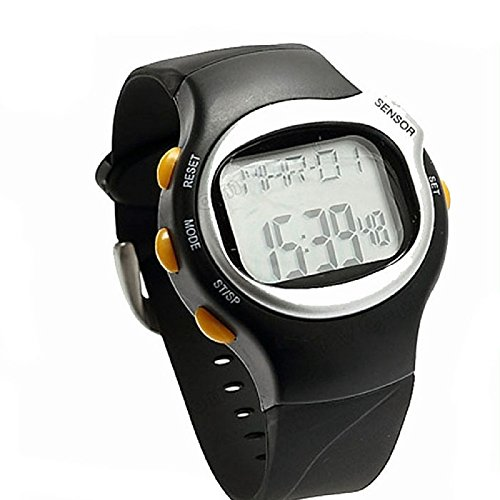 Faced Quartz Watch (AmyDong New LED Pulse Heart Rate Monitor Watch)