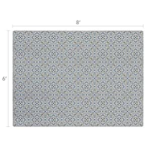 Amazon Com Vinyl Floor Mat Durable Soft And Easy To