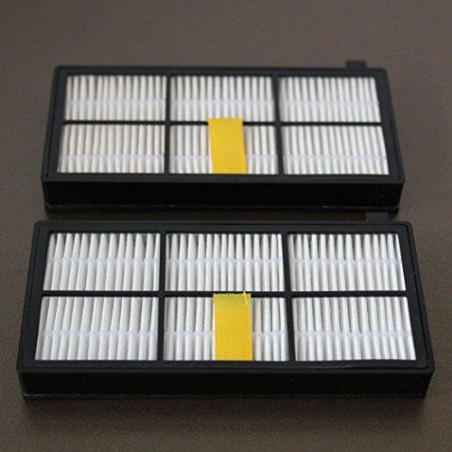 2 Aero Force filtro HEPA Adecuado para iRobot Roomba 800, 870, 871, 875, 876 - Serie, Series: Amazon.es: Hogar