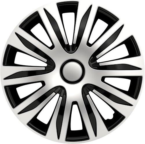 Radkappen Nardo Silber schwarz 16 16 Zoll Radzierblenden