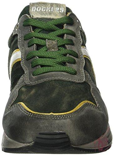 Dockers by Gerli Men's 39so001-200 Trainers Green (Grün/Grau 802) clearance store online discount get to buy original sale online Lr1V0unwS