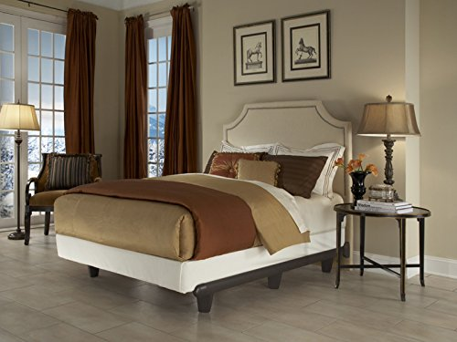 eMbrace Polymer Resin Heavy Duty Luxury Metal Bed Frame - QUEEN SIZE - BROWN - 2160 (Resin Metal)