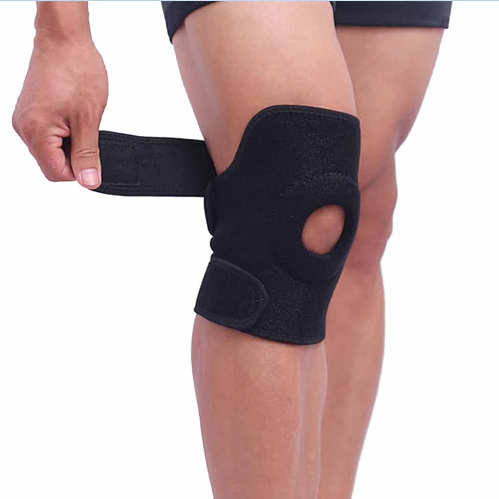bf343f8037 Amazon.com: Shiningup 1pcs Elastic Knee Support Brace Kneepad Adjustable  Patella Knee Pads Safety Guard Strap For Sports: Sports & Outdoors