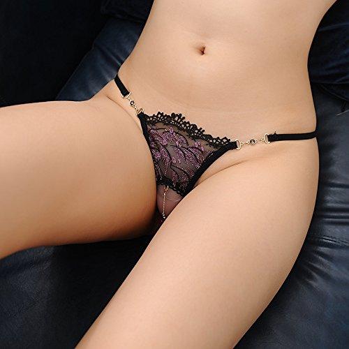 Señoras Pantalones, encajes, puntillas, huecos encajes, sexy, huecos, huecos, huecos, huecos puntillas, T pantalon,L d3fbe4