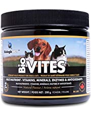 BioVITES Multi-Nutrient - Vitamins, Minerals & Enzymes for Dogs and Cats Powder, 200g