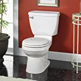 American Standard 3110.016.021 Champion Round Front Toilet Bowl with Bolt Caps, Bone