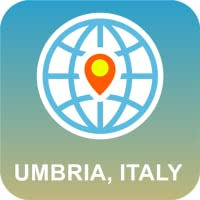 Umbria, Italy Map Offline