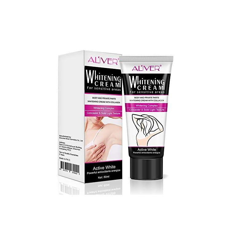 Vaginal bleaching cream