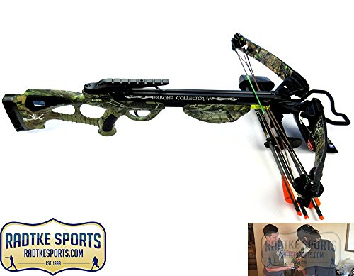 (Norman Reedus Autographed/Signed Bone Collector Camo Full Size Crossbow - The Walking Dead)