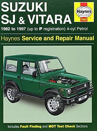 suzuki sj410 sj413 82 97 and vitara service and repair manual rh amazon com 2000 Suzuki Vitara 2001 Suzuki Vitara