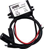 Yeeco DC 8-50V 12V 24V to 5V Buck Voltage Converter Transformer Power Supply Module 15W 3A Step Down Voltage Regulator Reducer for LED Cell Phone Car Recorder MP3/ MP4 (Female & Micro USB Connector)