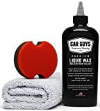 Automotive : CarGuys Liquid Wax - The Ultimate Car Wax Shine with Polymer Paint Sealant Protection! - 8 oz Kit