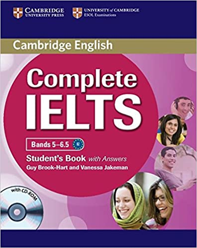 Complete IELTS Bands 5-6.5 Students Book with Answers with CD-ROM