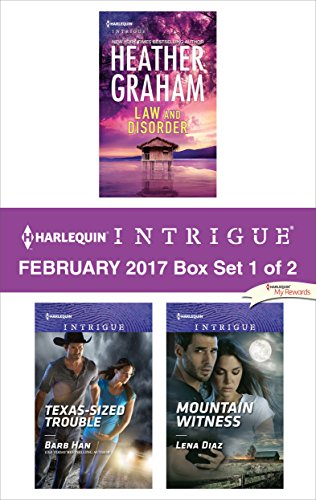 book cover of Harlequin Intrigue February 2017 - Box Set 1 of 2